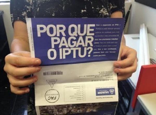 IPTU Salvador: Prefeitura, 2 Via